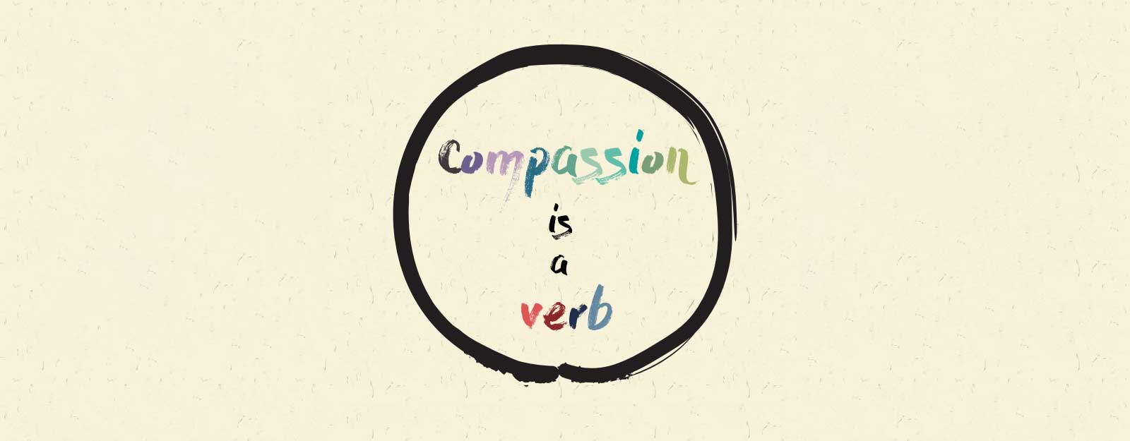 Compassion is a verb